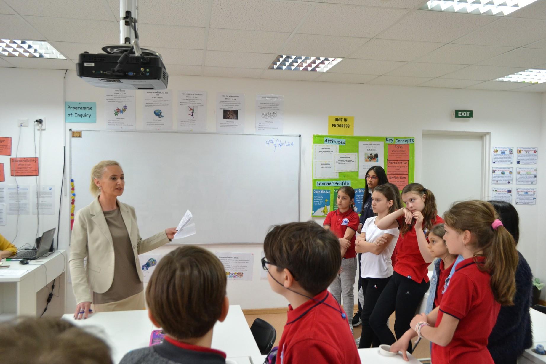 Bullying-ul în școală – lecție susținută de Dna. Alina Lăcraru psiholog, psihoterapeut