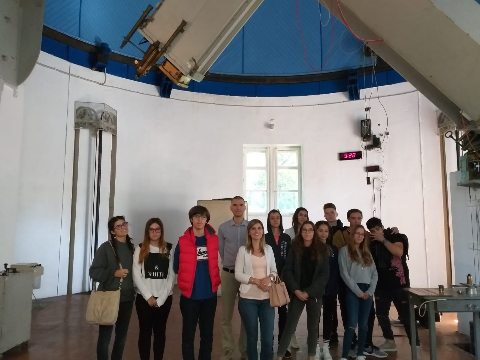 Liceul LLI Academy la Institutul Astronomic din București