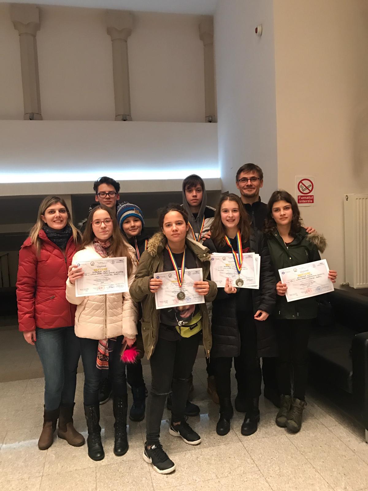"""Premii la Concursul Național """"La Școala cu Ceas"""" 2019"""