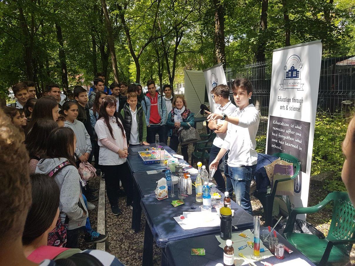 LLI Academy la Salonul de Știință al Școlilor