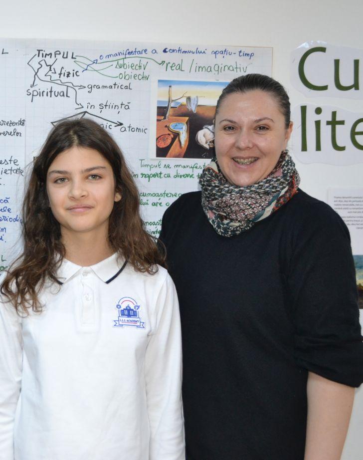Ilinca Drumcea – olimpică la Limba și Literatura Română