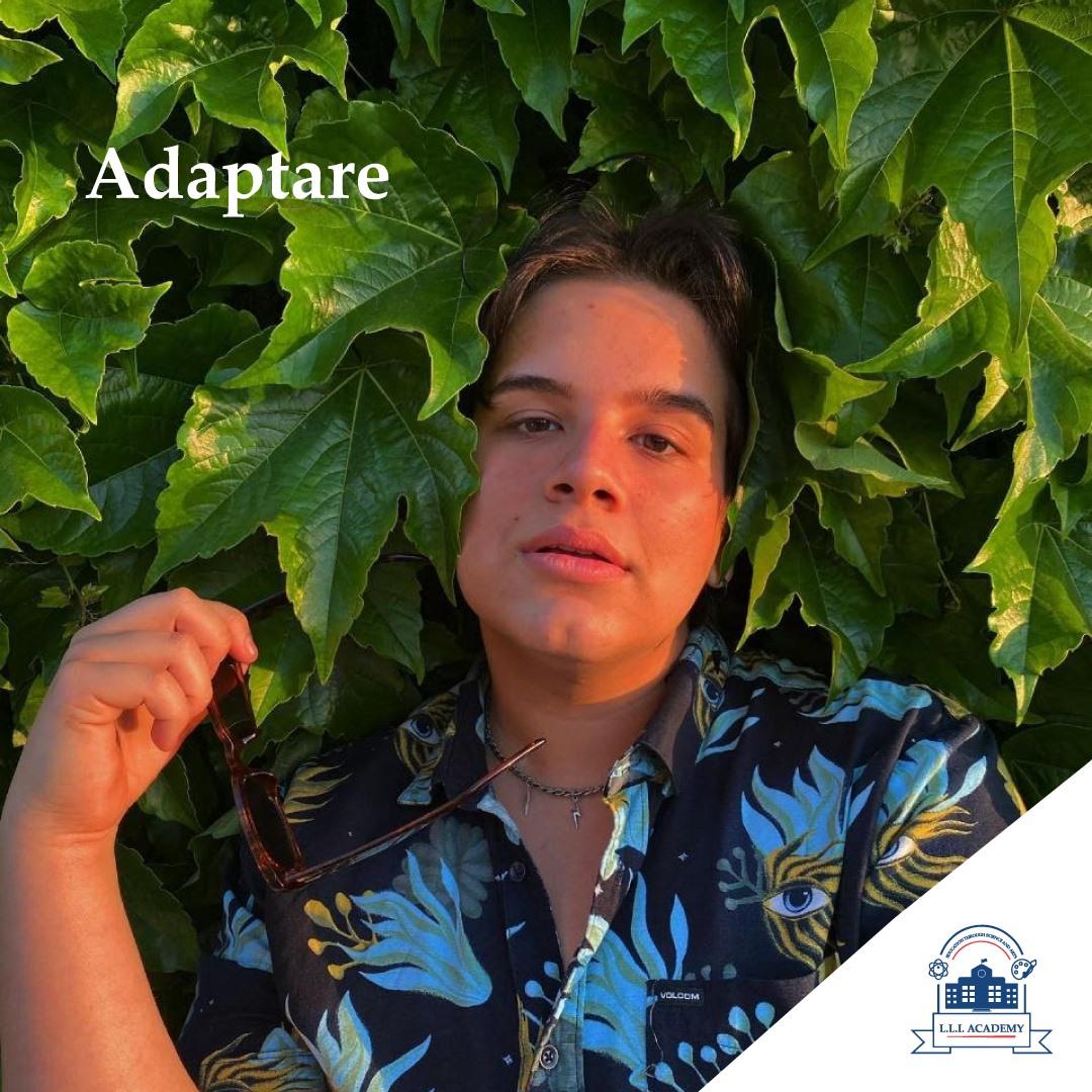Alexandru Rotaru, fost elev al Liceului Teoretic Little London, în prezent, student la actorie în SUA